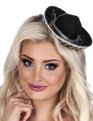 Mini sombrero hoedje voor dames
