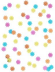 Hippie bloemen confetti