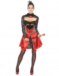 Chique hartenkoninginnen outfit voor vrouwen
