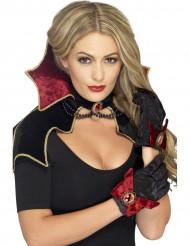 Chique vampier set voor vrouwen Halloween