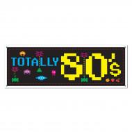 Jaren 80 video game banner