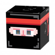 Ninja cube 8-bit jaren 80 masker