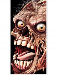 Zombie deurversiering Halloween