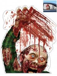 Zombie auto raamsticker