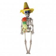 Dia de los Muertos mannen skelet