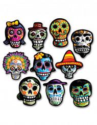 Set Dia de Los Muertos versieringen