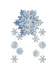 3D sneeuwvlok versiering