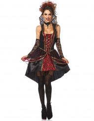 Elegante barokke vampier kostuum voor vrouwen