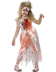 Prinses zombie Halloween kostuum voor meisjes
