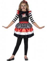 Skeletten piraat Halloween kostuum voor meisjes
