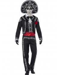 Mexicaanse skelet kostuum voor heren Halloween