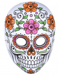 Gekleurd skeletten masker Halloween