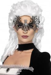 Spinnenweb masker met glitters voor volwassenen Halloween
