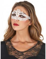 Wit kant masker voor vrouwen