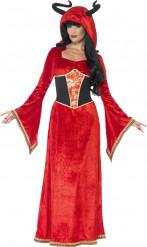 Duivelse koningin kostuum voor dames Halloween