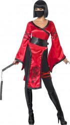 Ninja strijder kostuum voor vrouwen