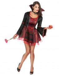 Sexy rode vampier Halloween kostuum voor vrouwen