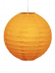 Oranje papieren lantaarn