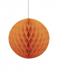 Oranje papieren decoratie Halloween