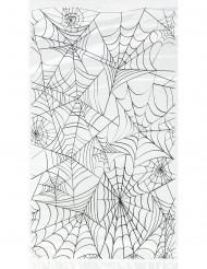 Set plastic tasjes spinnenweb motief Halloween