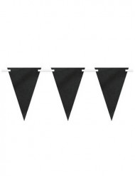 Personaliseerbare zwarte slinger met krijtbord effect