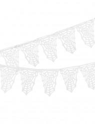 Witte spinnenweb slinger Halloween