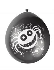 Set spinnen ballonnen Halloween