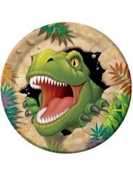 Set van dinosaurus borden