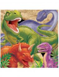 Set van servetten dinosaurus