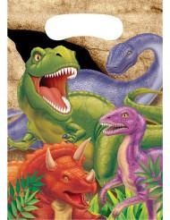 Set van dinosaurus uitdeel zakjes