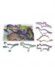Set van 6 bakvormpjes dinosaurus