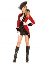 Sexy revolutionair piraten kostuum voor vrouwen