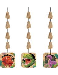 Verjaardag versieringen dinosaurus