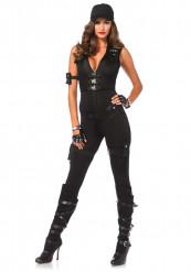 Sexy SWAT kostuum voor dames - Premium