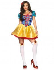 Sneeuwwitje prinses kostuum voor dames
