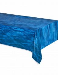 Plastic tafelkleed oceaangolven print