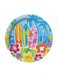 Set van kleine Hawaiiaanse borden