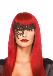 Zwart Venetiaanse masker voor volwassenen