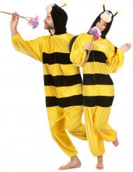 Bijen pak met vleugels voor volwassenen