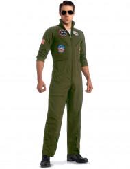 Top Gun™ vliegenier kostuum met zonnebril voor volwassen - Deluxe