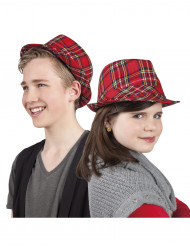 Keltische tartan hoed voor kinderen