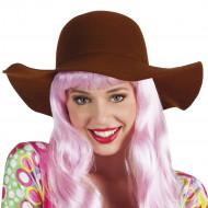 Zomerse bruine hoed voor vrouwen
