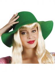 Zomerse groene hoed voor vrouwen