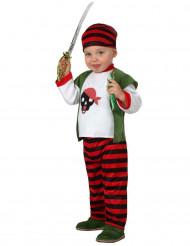 Strijdlustige piraat kostuum voor baby