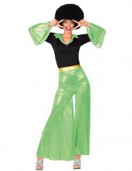 Groen disco pak voor dames
