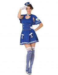 Matrozen outfit voor vrouwen