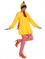 Kippen kostuum voor vrouwen