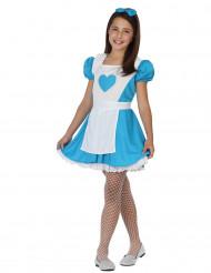 Alice sprookjes kostuum voor kinderen