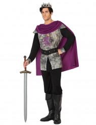 Paars ridder outfit voor mannen
