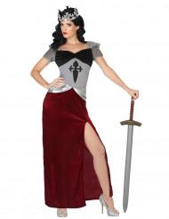 Middeleeuws ridder outfit voor vrouwen